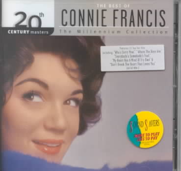 20TH CENTURY MASTERS:MILLENNIUM COLLE BY FRANCIS,CONNIE (CD)